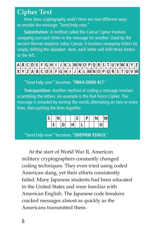Book Preview For Code Talkers Page 8