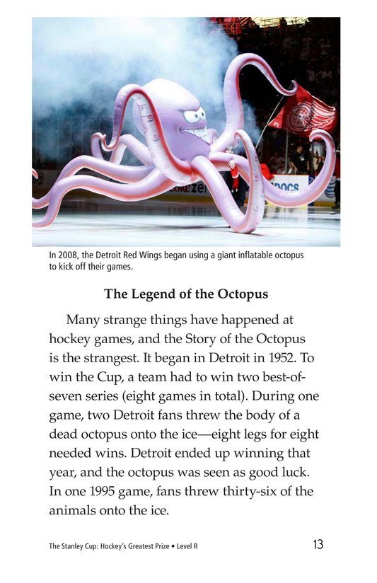 Book Preview For The Stanley Cup: Hockey's Greatest Prize Page 13