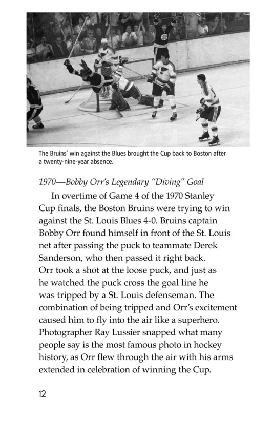 Book Preview For The Stanley Cup: Hockey's Greatest Prize Page 12