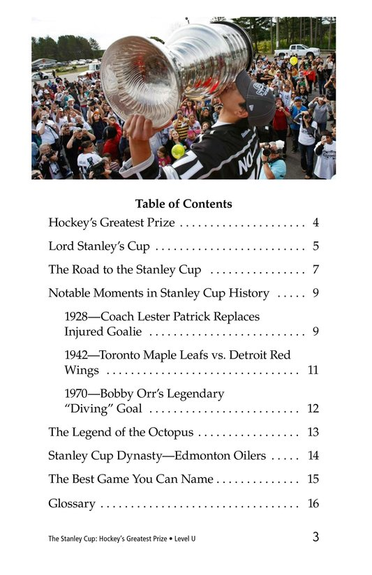 Book Preview For The Stanley Cup: Hockey's Greatest Prize Page 3