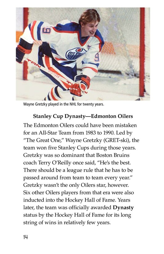 Book Preview For The Stanley Cup: Hockey's Greatest Prize Page 14
