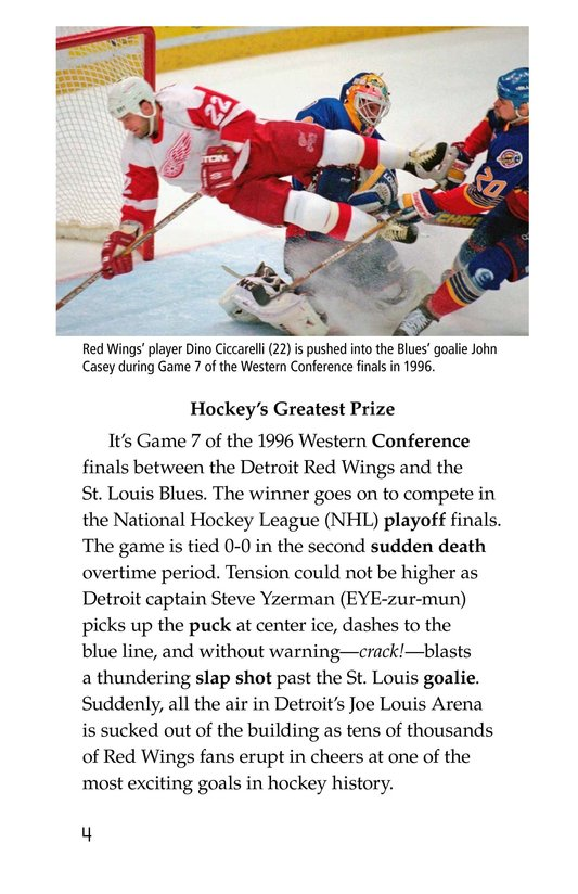 Book Preview For The Stanley Cup: Hockey's Greatest Prize Page 4