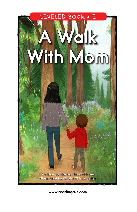 Book Preview For A Walk With Mom Page 1