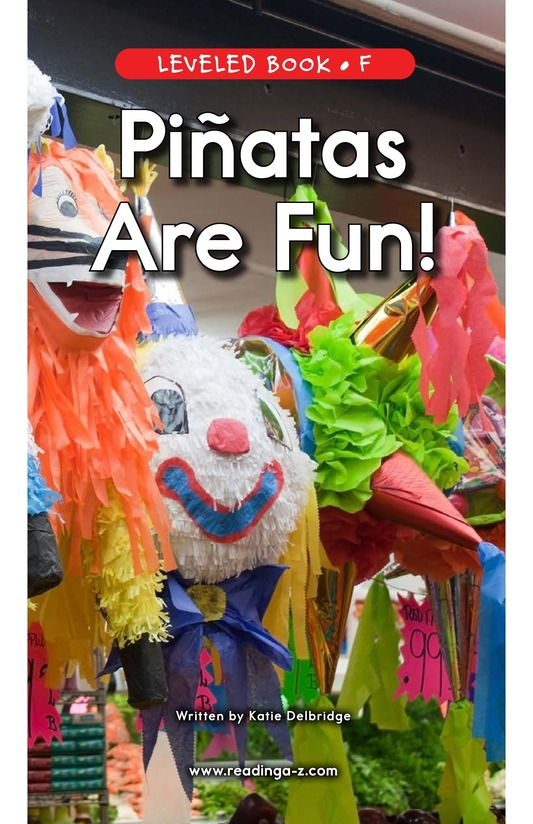 Book Preview For Piñatas Are Fun! Page 1
