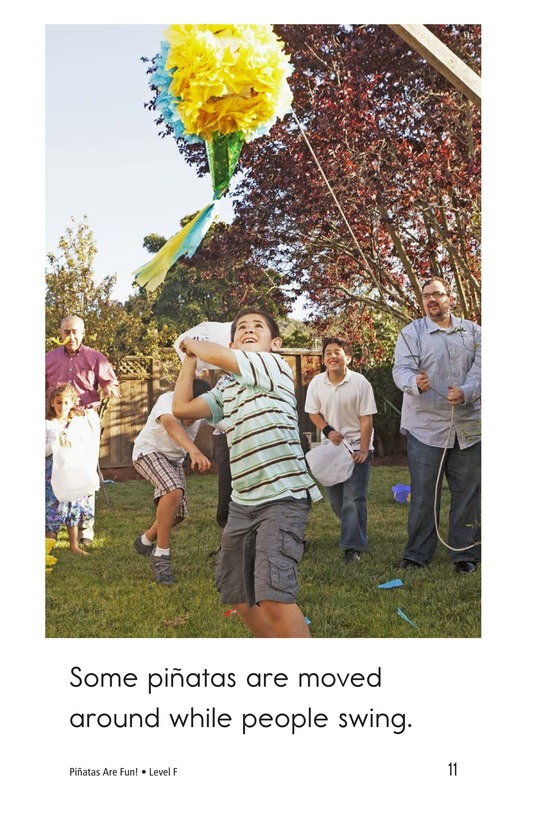 Book Preview For Piñatas Are Fun! Page 11
