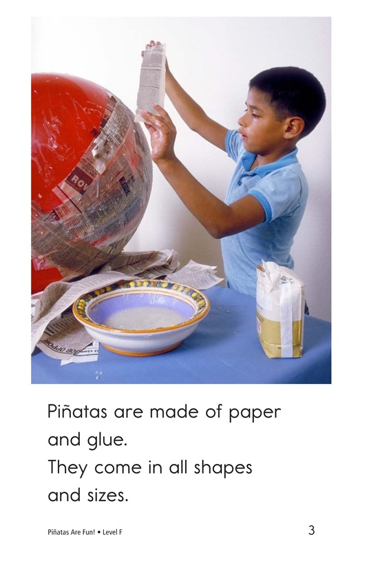 Book Preview For Piñatas Are Fun! Page 3