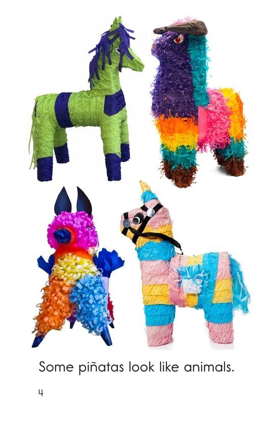 Book Preview For Piñatas Are Fun! Page 4