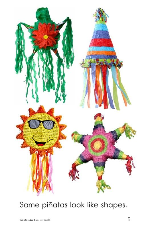 Book Preview For Piñatas Are Fun! Page 5