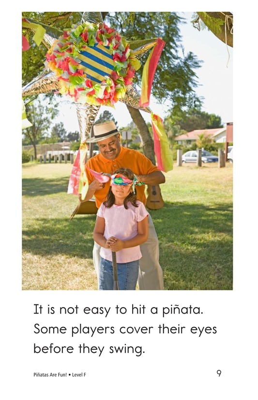 Book Preview For Piñatas Are Fun! Page 9