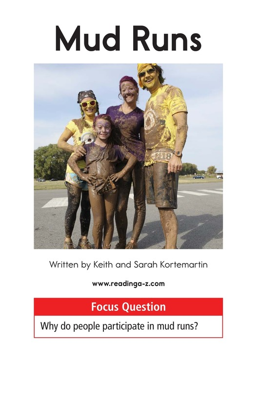 Book Preview For Mud Runs Page 1
