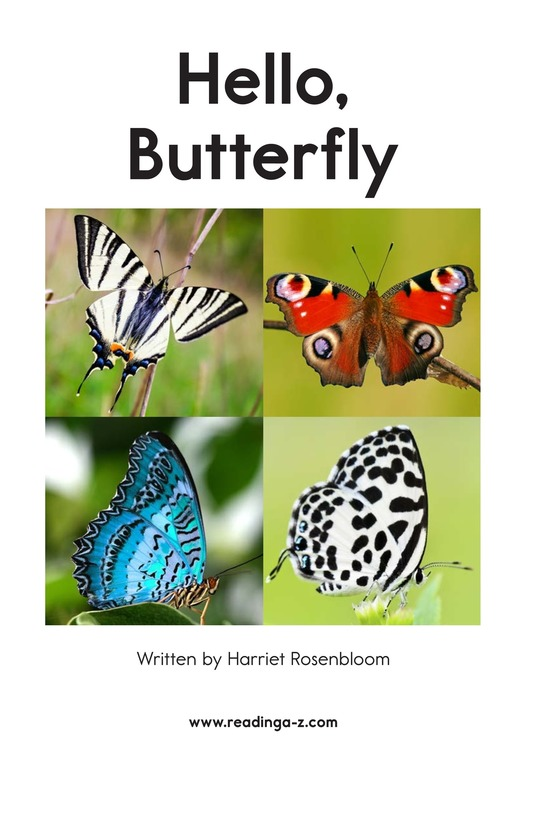 Book Preview For Hello, Butterfly Page 2