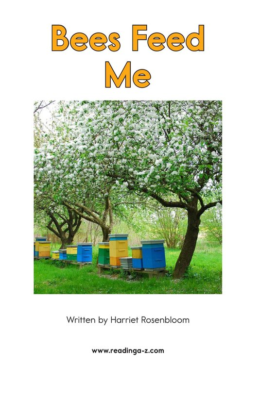 Book Preview For Bees Feed Me Page 2