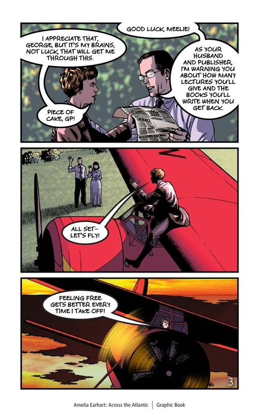 Book Preview For Amelia Earhart Across the Atlantic Page 4