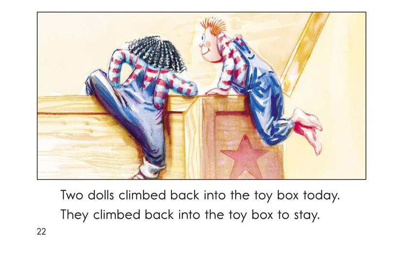 Book Preview For In and Out of the Toy Box Page 22