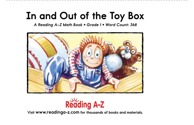 Book Preview For In and Out of the Toy Box Page 25