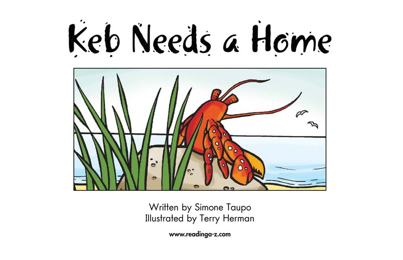 Book Preview For Keb Needs a Home Page 2