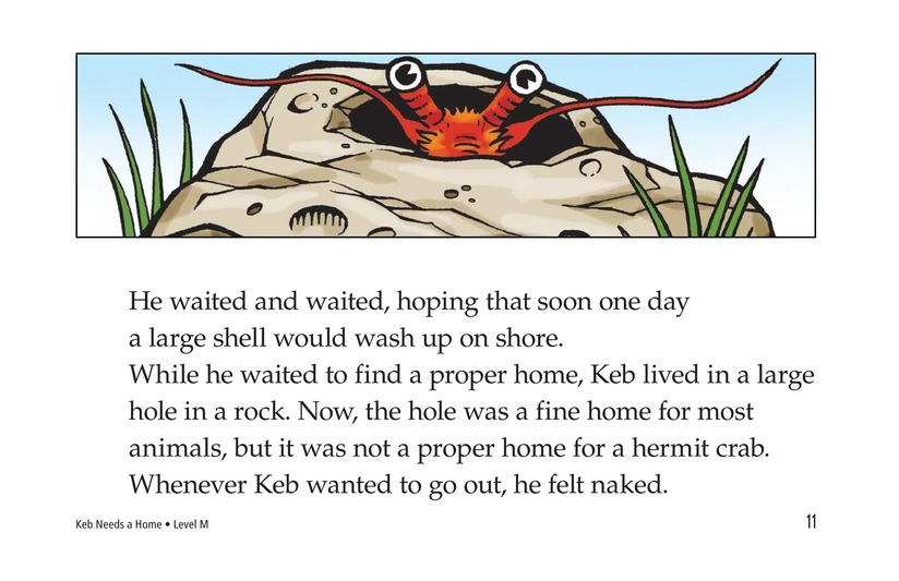 Book Preview For Keb Needs a Home Page 11