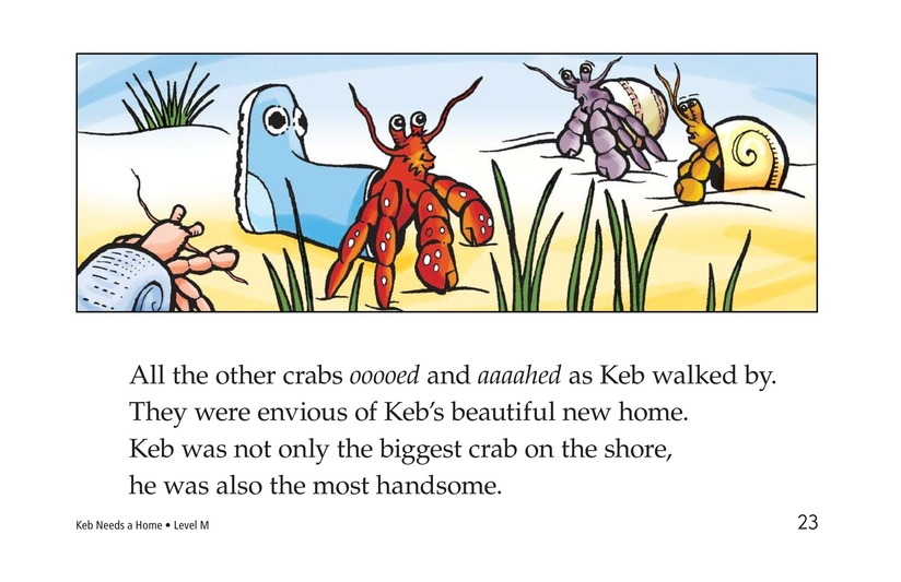 Book Preview For Keb Needs a Home Page 23