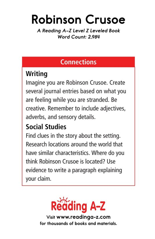 Book Preview For A Selection From Robinson Crusoe Page 23