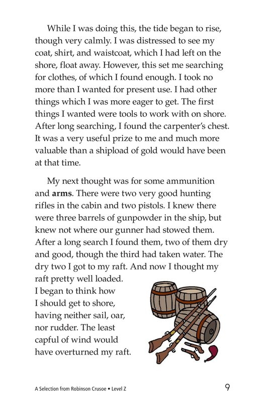 Book Preview For A Selection From Robinson Crusoe Page 9
