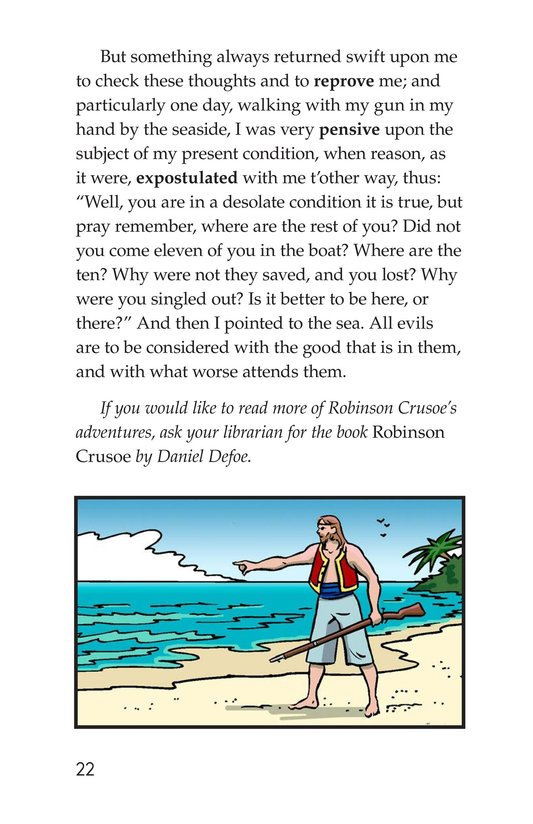 Book Preview For A Selection From Robinson Crusoe Page 22