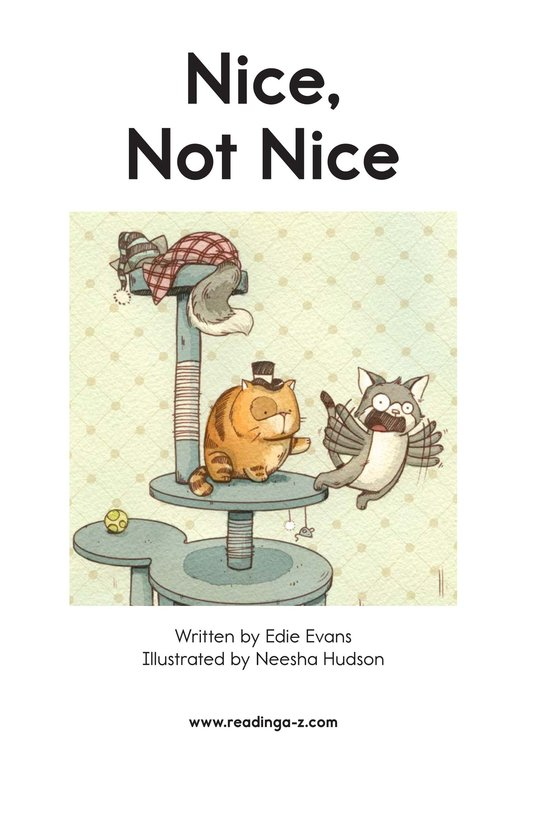Book Preview For Nice, Not Nice Page 2