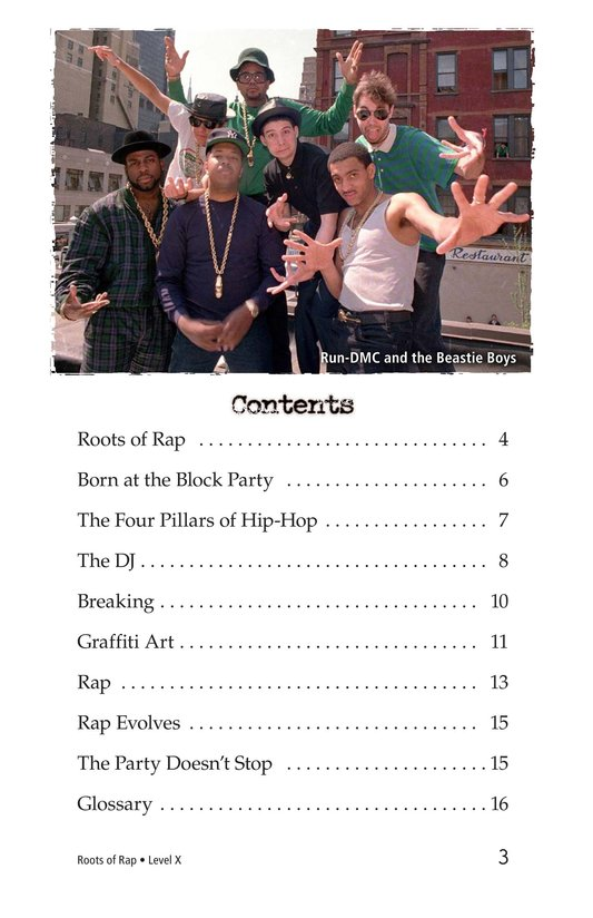 Book Preview For Roots of Rap Page 3