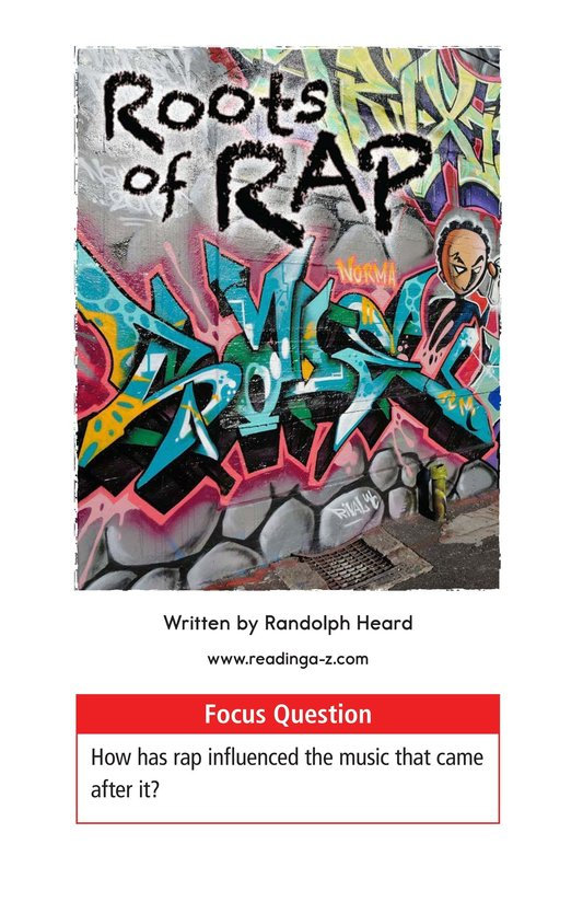 Book Preview For Roots of Rap Page 1