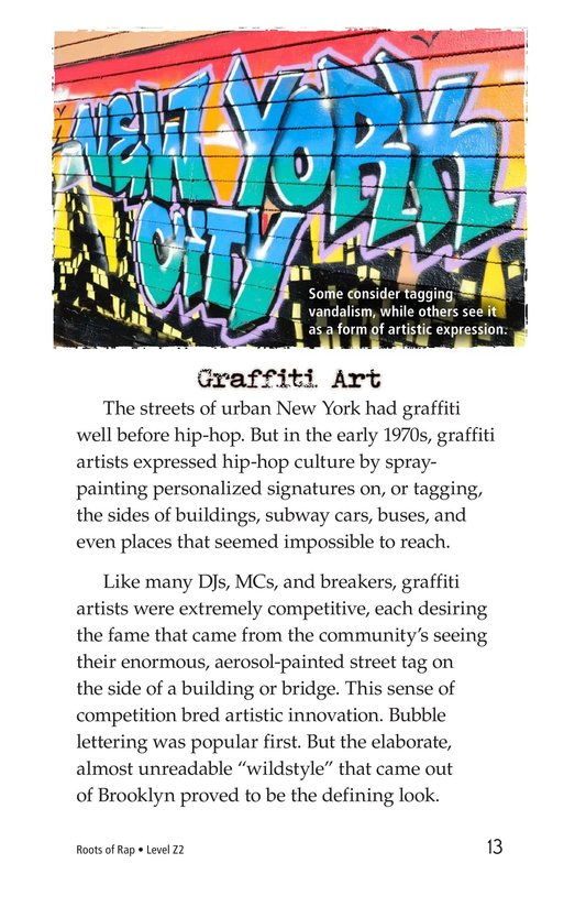 Book Preview For Roots of Rap Page 13