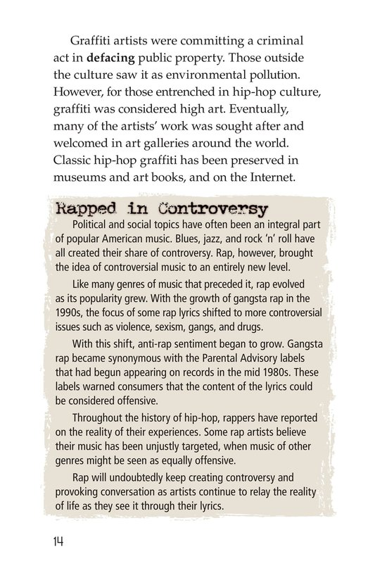 Book Preview For Roots of Rap Page 14