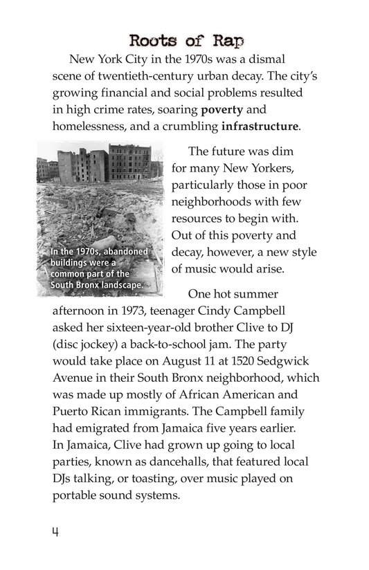 Book Preview For Roots of Rap Page 4