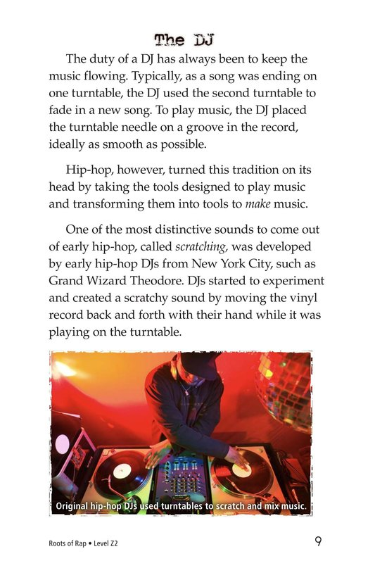 Book Preview For Roots of Rap Page 9