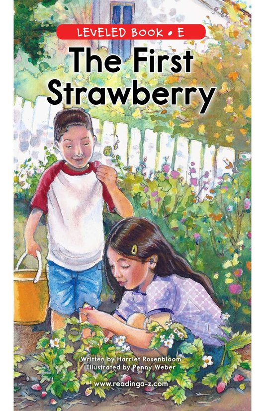 Book Preview For The First Strawberry Page 0