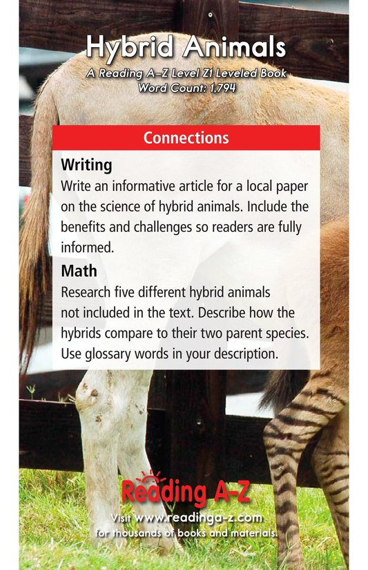 Book Preview For Hybrid Animals Page 21