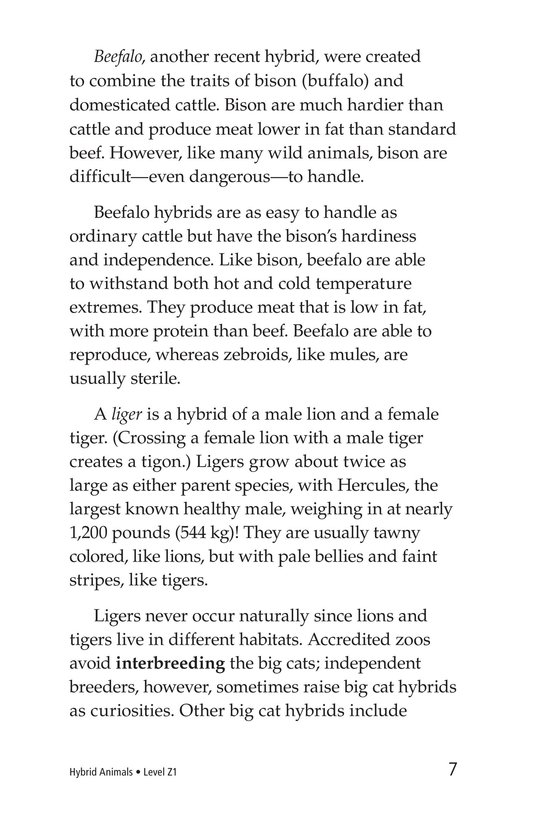 Book Preview For Hybrid Animals Page 7