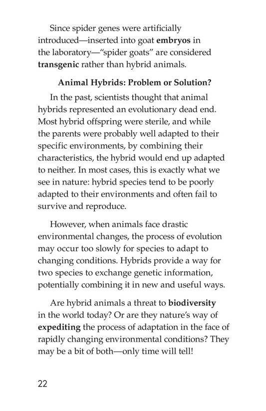 Book Preview For Hybrid Animals Page 22