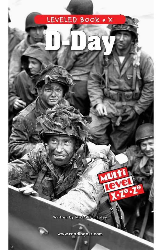 Book Preview For D-Day Page 0