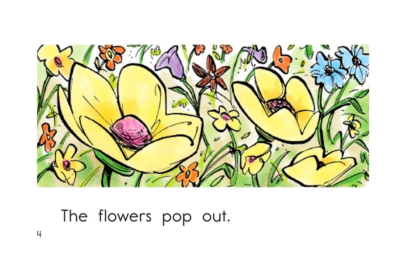 Book Preview For It Is Spring Page 4