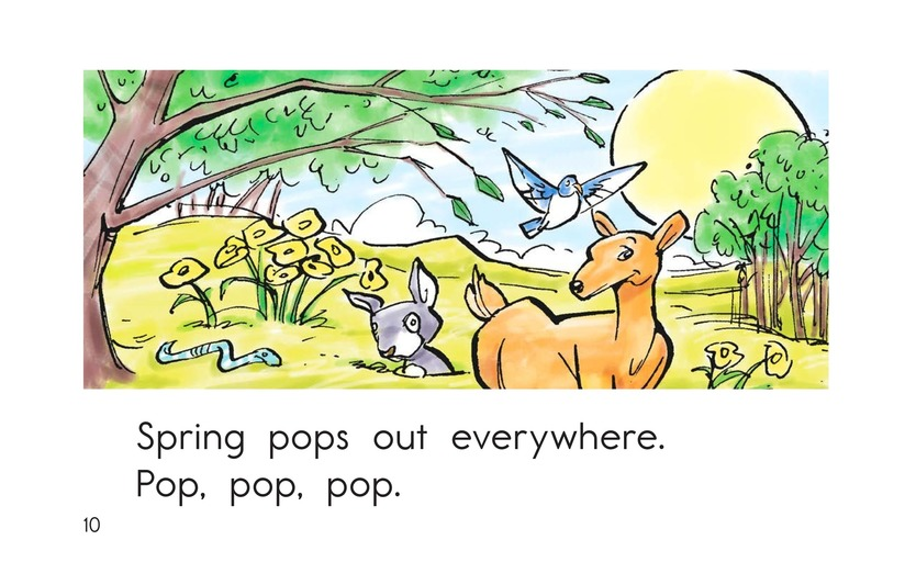 Book Preview For It Is Spring Page 10