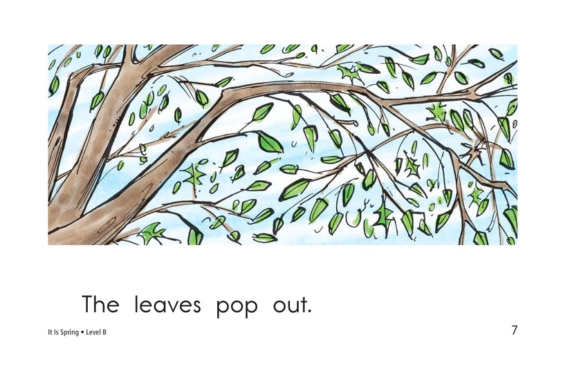 Book Preview For It Is Spring Page 7