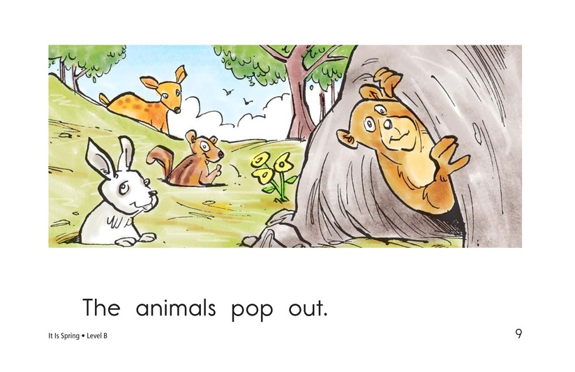 Book Preview For It Is Spring Page 9
