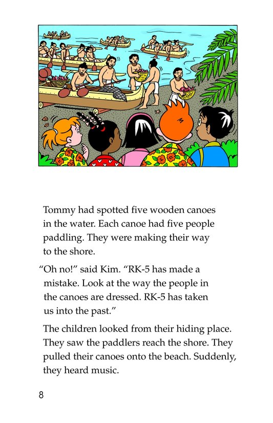 Book Preview For Tommy Goes To Hawaii Page 8