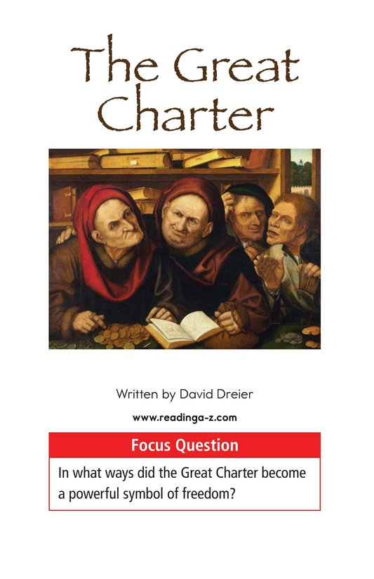 Book Preview For The Great Charter Page 1