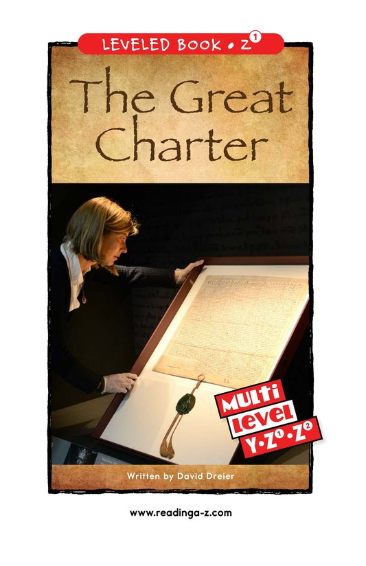 Book Preview For The Great Charter Page 0