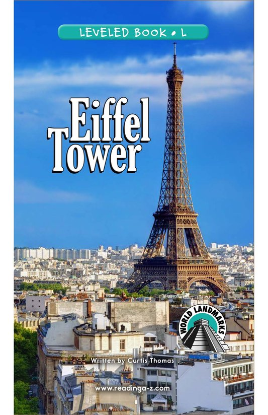 Book Preview For Eiffel Tower Page 0