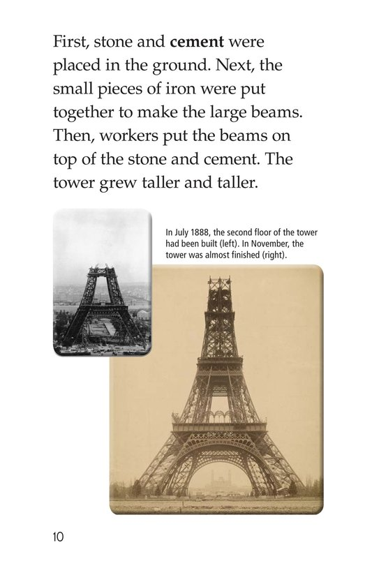 Book Preview For Eiffel Tower Page 10