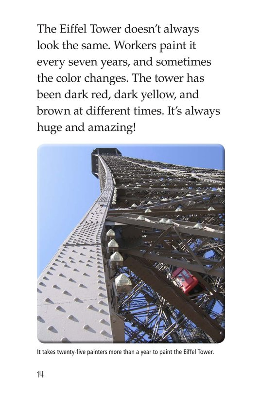 Book Preview For Eiffel Tower Page 14