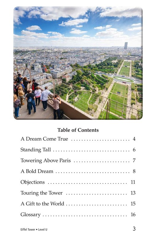 Book Preview For Eiffel Tower Page 3