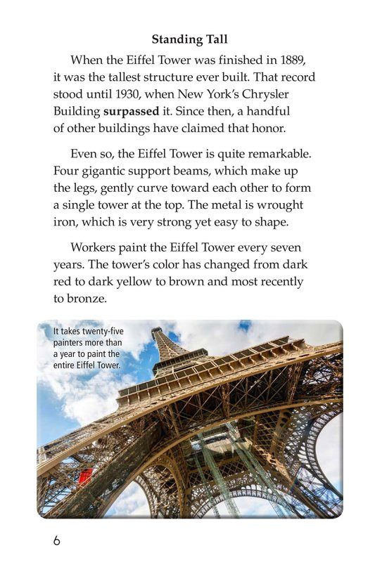 Book Preview For Eiffel Tower Page 6