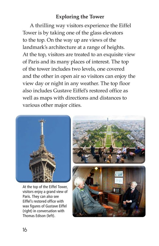Book Preview For Eiffel Tower Page 16